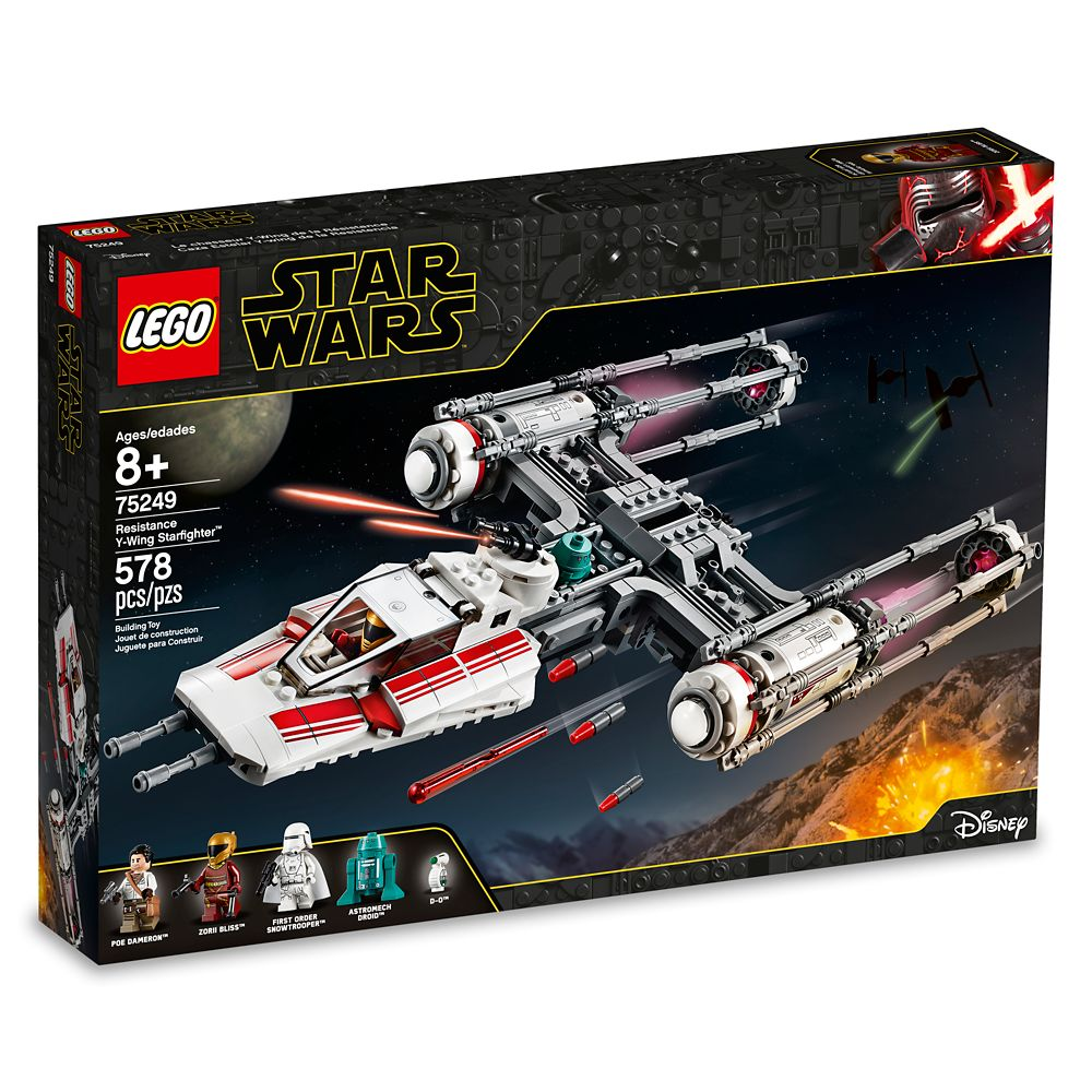 Resistance Y-Wing Starfighter Playset by LEGO – Star Wars: The Rise of Skywalker