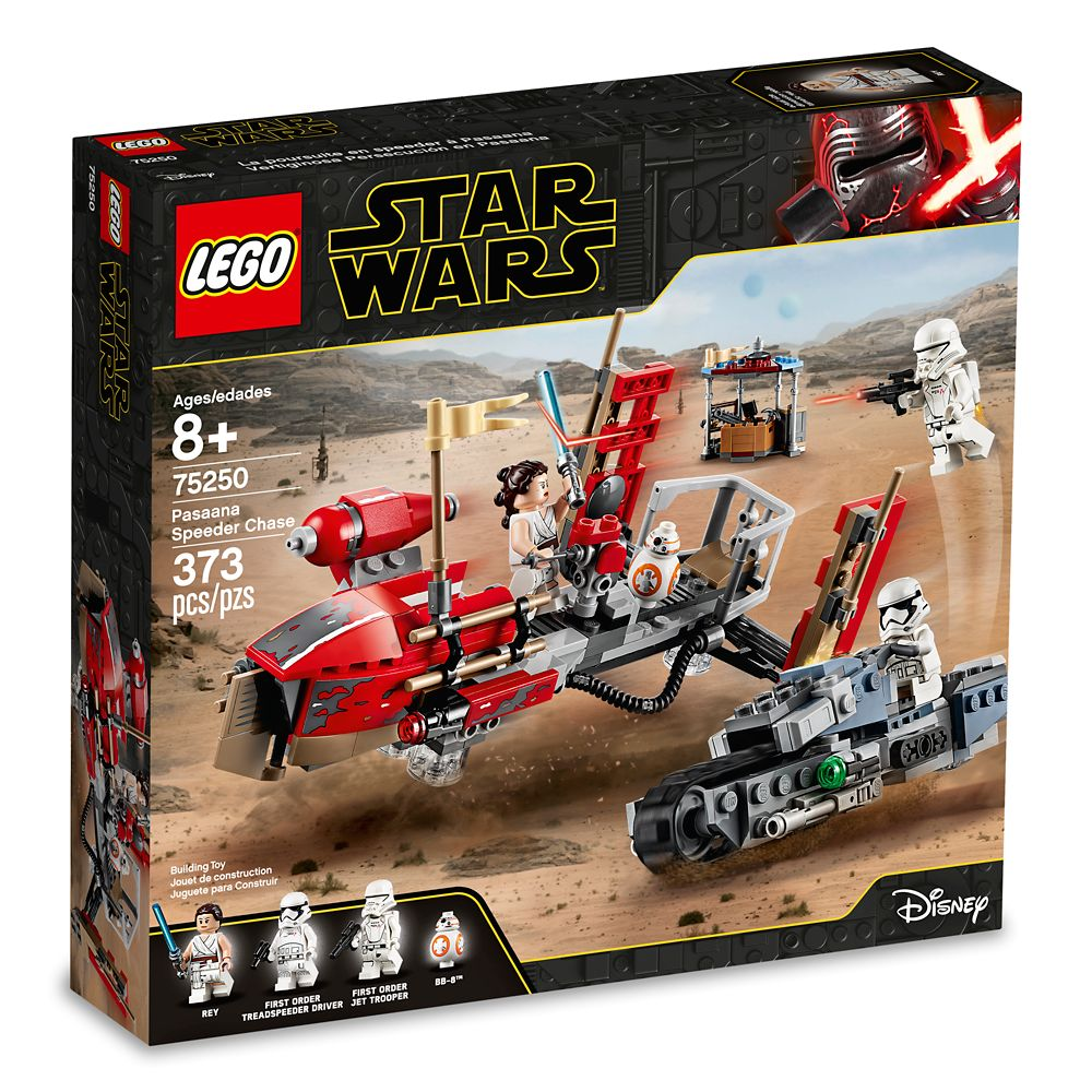 Pasaana Speeder Chaser Playset by LEGO – Star Wars: The Rise of Skywalker