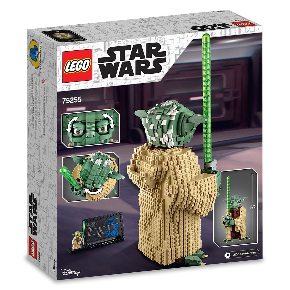 Yoda Figure by LEGO – Star Wars: Attack of the Clones