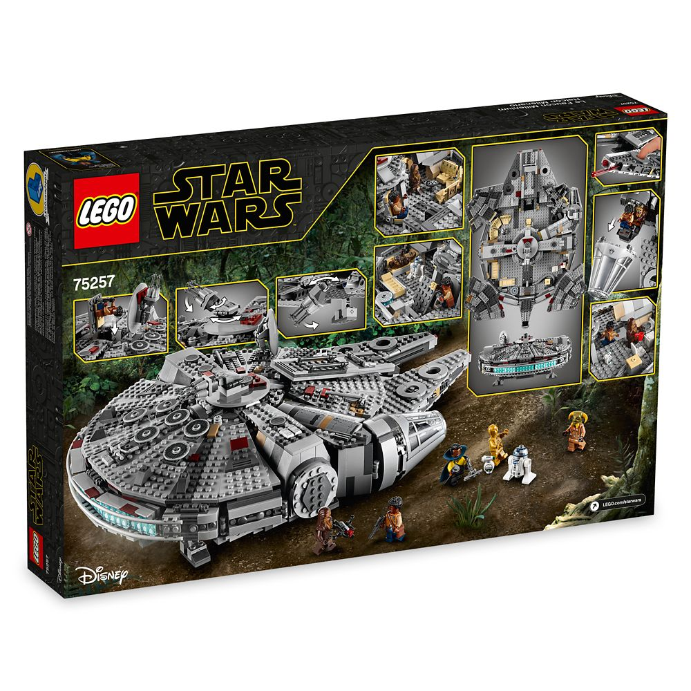 Millennium Falcon Playset By Lego Star Wars The Rise Of Skywalker Shopdisney