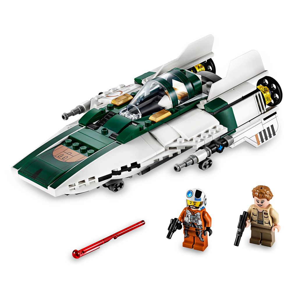Resistance A-Wing Starfighter Playset by LEGO – Star Wars: The Rise of Skywalker