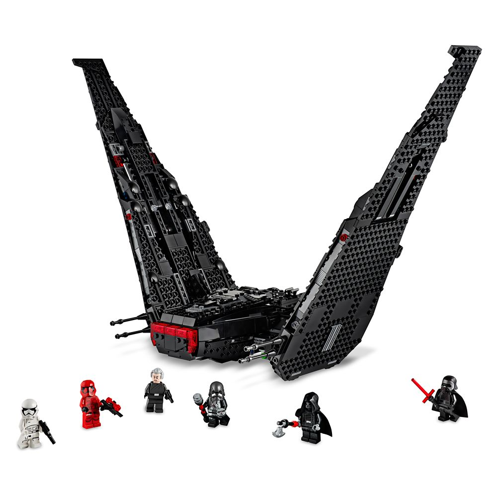 Kylo Ren's Shuttle Playset by LEGO – Star Wars: The Rise of Skywalker