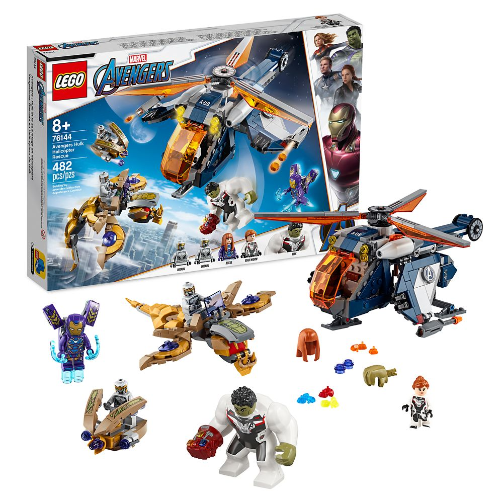 Hulk Helicopter Rescue Building Set by LEGO – Marvel's Avengers: Endgame