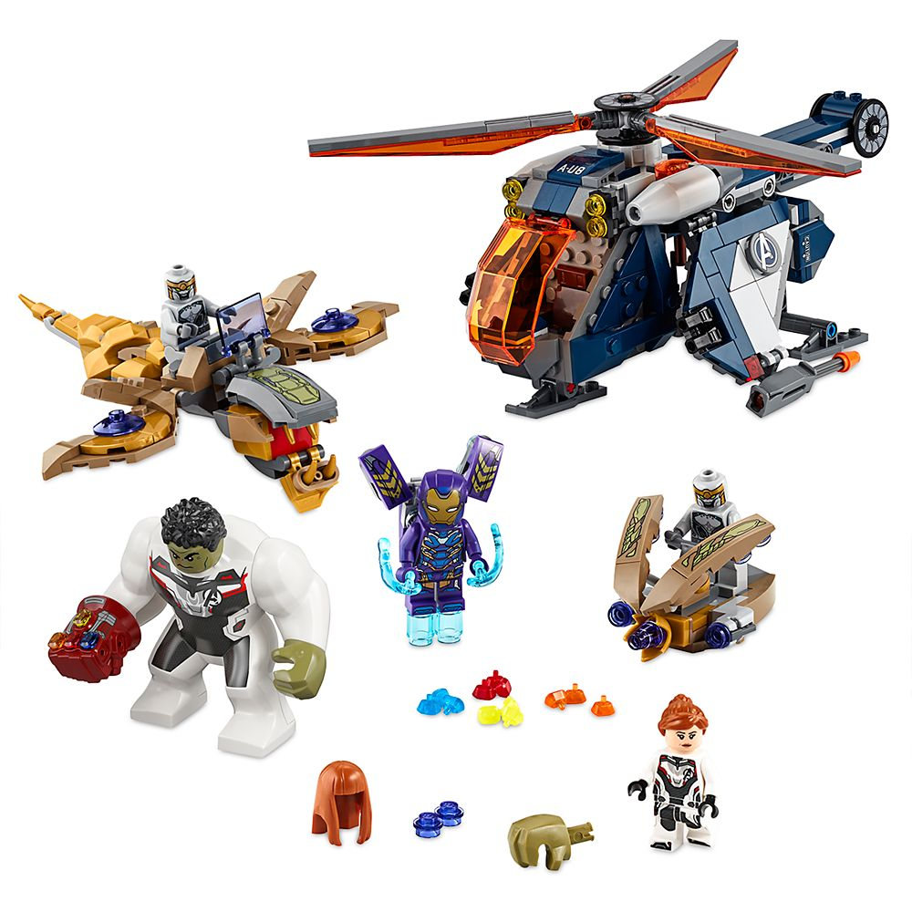 Hulk Helicopter Rescue Building Set by LEGO – Marvel's Avengers: Endgame