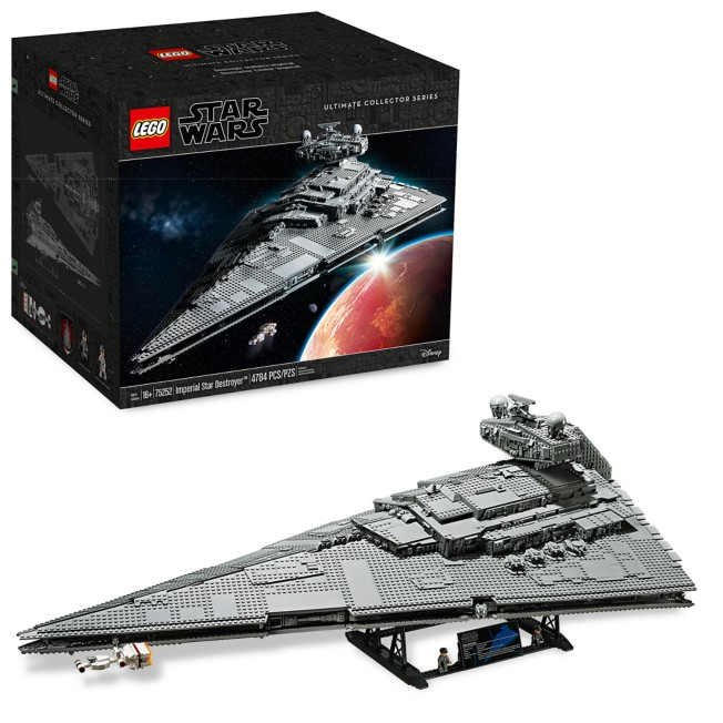 Imperial Star Destroyer Building Set by LEGO – Star Wars: A New Hope – Ultimate Collector Series