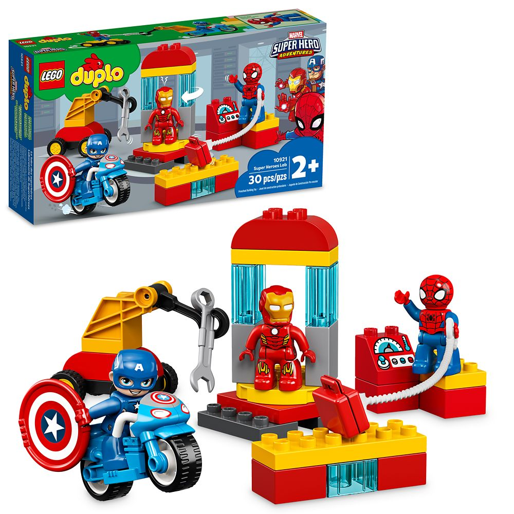 Marvel Super Heroes Lab Duplo Building Set by LEGO