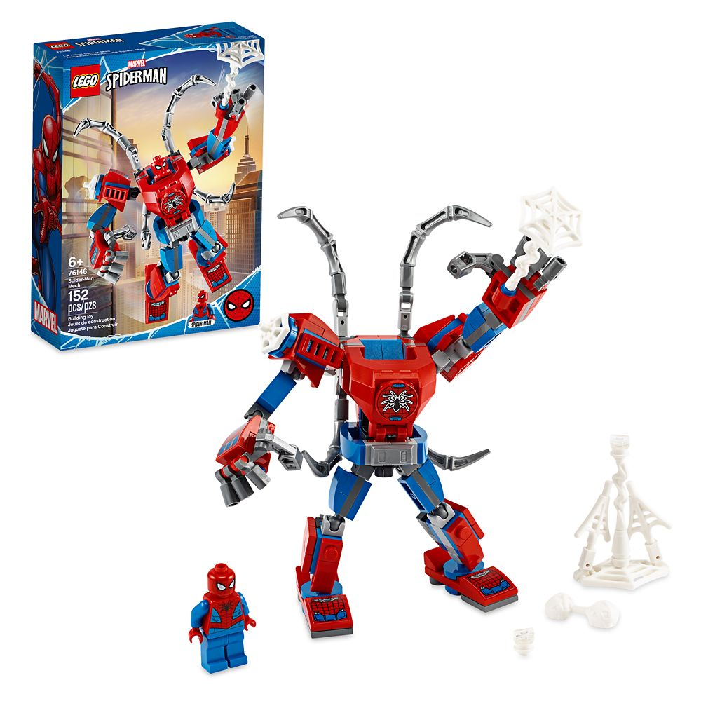 Disney LEGO Marvel Spider-Man Mech 76146