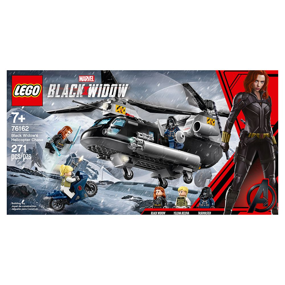 Black Widow's Helicopter Chase Building Set by LEGO – Marvel's Black Widow