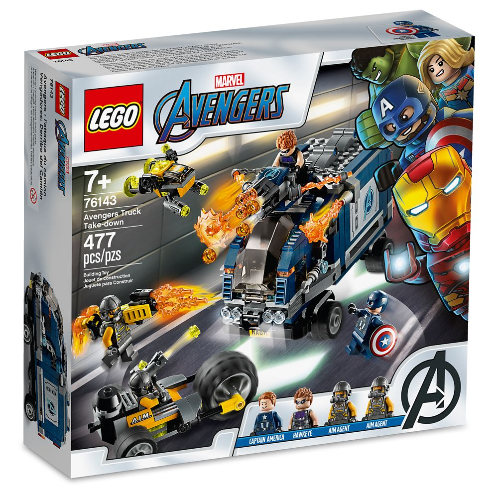 Avengers Truck Take Down Building Set by LEGO