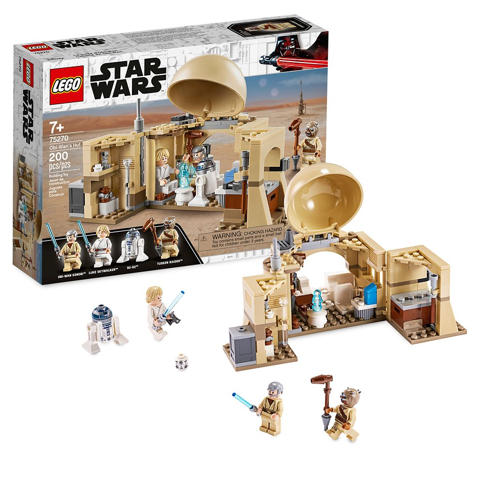Obi-Wan's Hut Building Set by LEGO – Star Wars: A New Hope