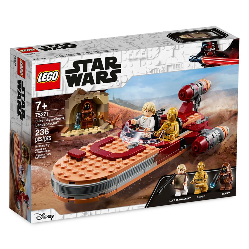 Luke Skywalker's Landspeeder Building Set by LEGO – Star Wars: The Rise of Skywalker