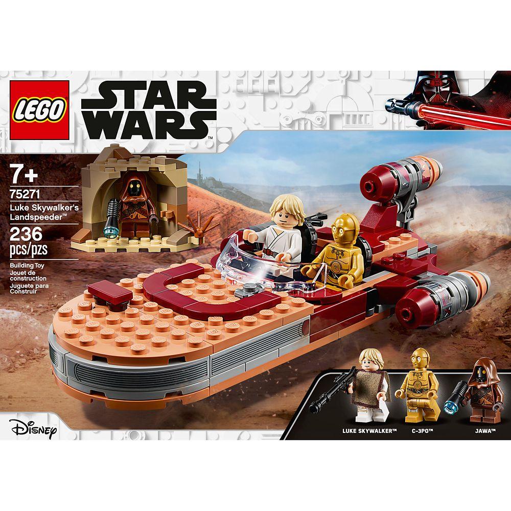 Lego Luke Skywalker S Landspeeder Set Shopdisney