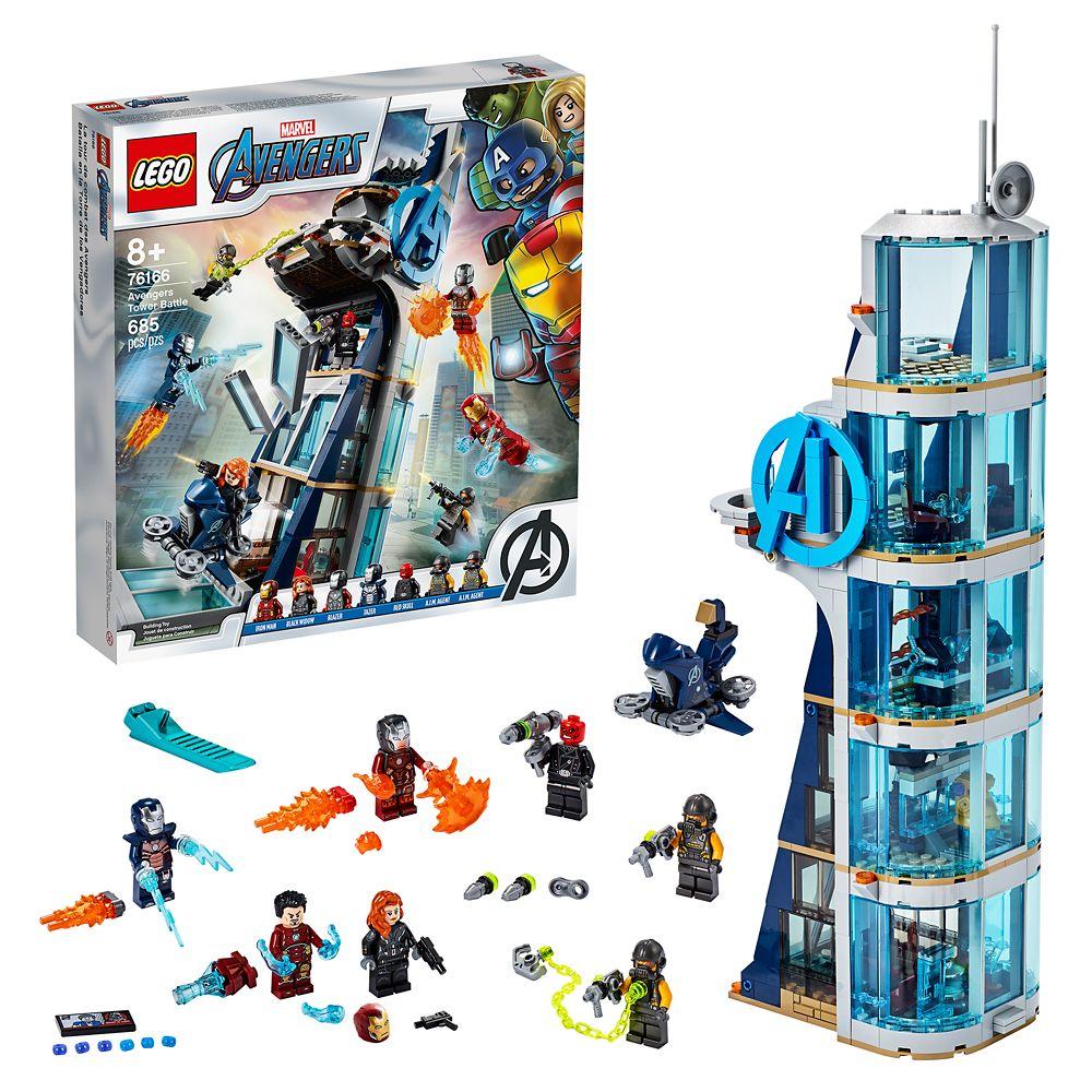 LEGO Avengers Tower Battle 76166 Official shopDisney