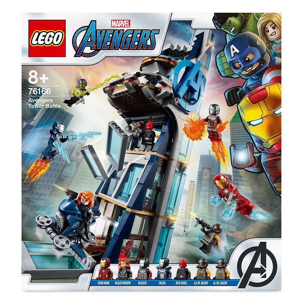 LEGO Avengers Tower Battle 76166
