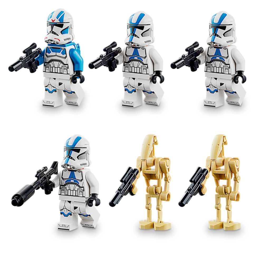 75280 NO FIGURES OR BOX!! Lego Star Wars 501st Legion Clone Troopers