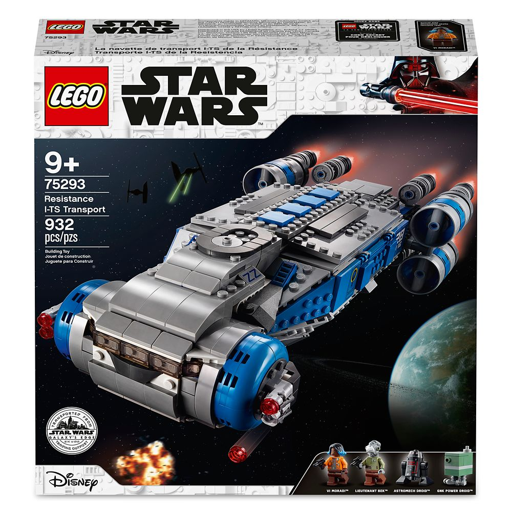 LEGO Disney Galaxy's Edge Star Wars Resistance I-TS Transport 75293 New Sealed!