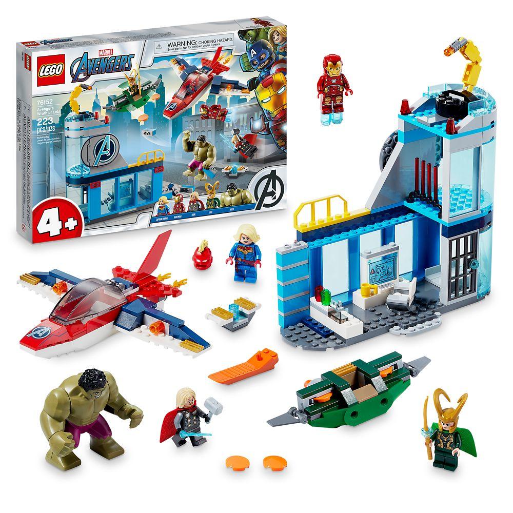 LEGO Marvel Avengers Wrath of Loki 76152