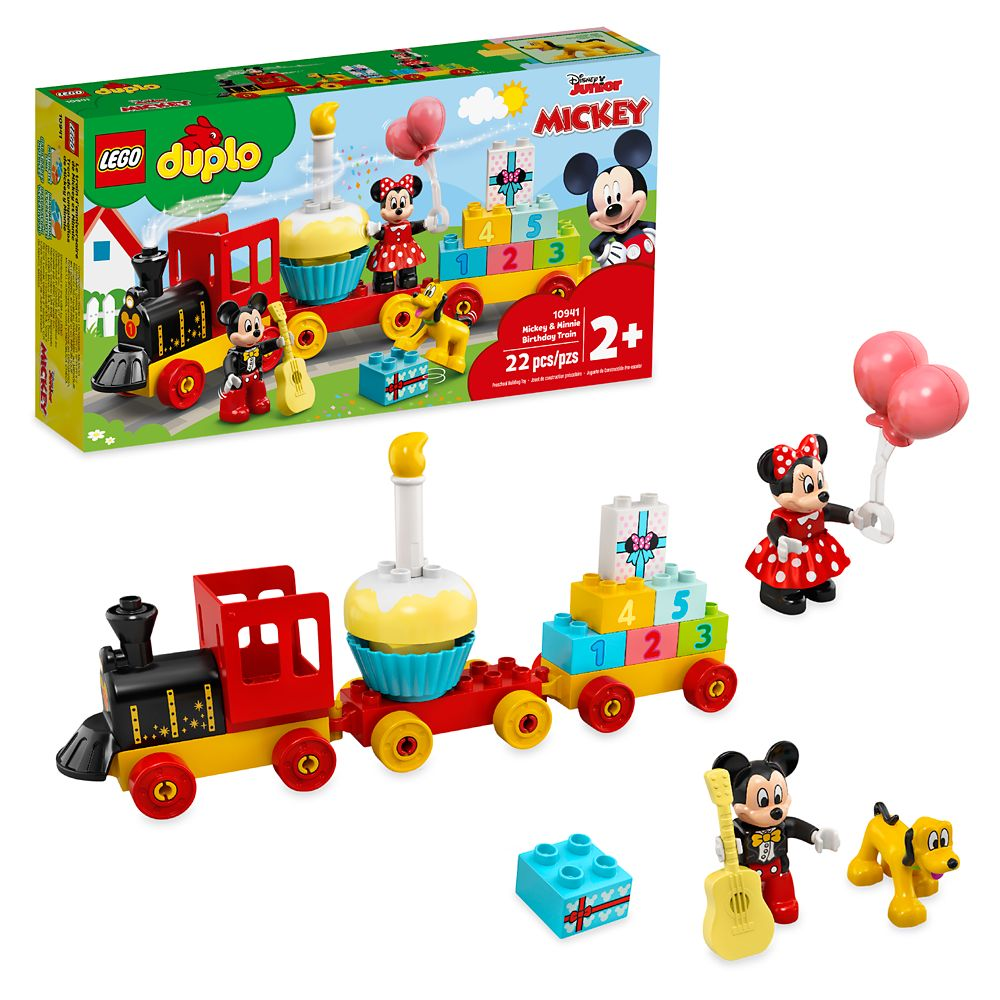 LEGO DUPLO Mickey & Minnie Mouse Birthday Train 10941