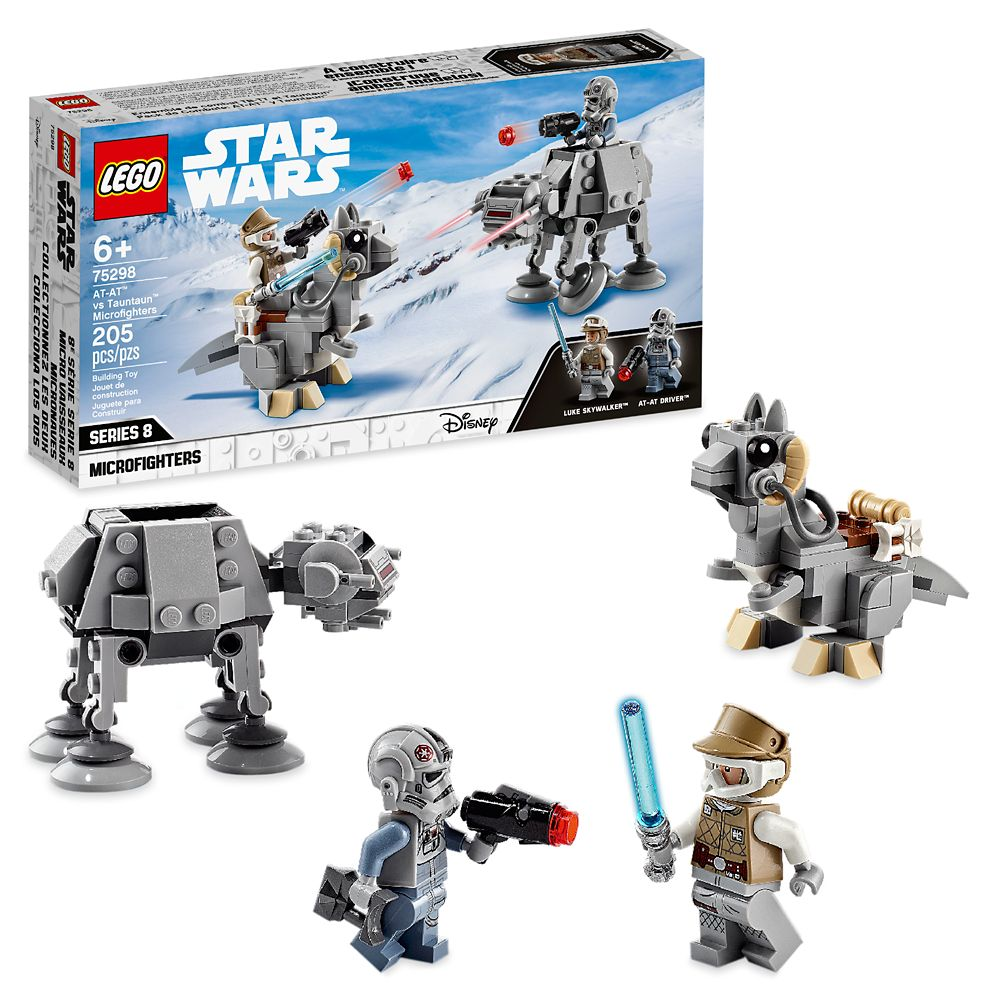 LEGO Star Wars AT-AT vs. Tauntaun Microfighters 75298