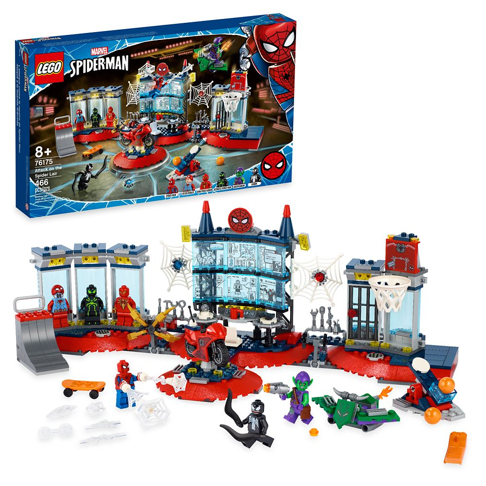 LEGO Spider-Man Attack on the Lair 76175