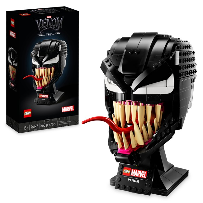 LEGO Marvel Venom Helmet 76187 – Spider-Man