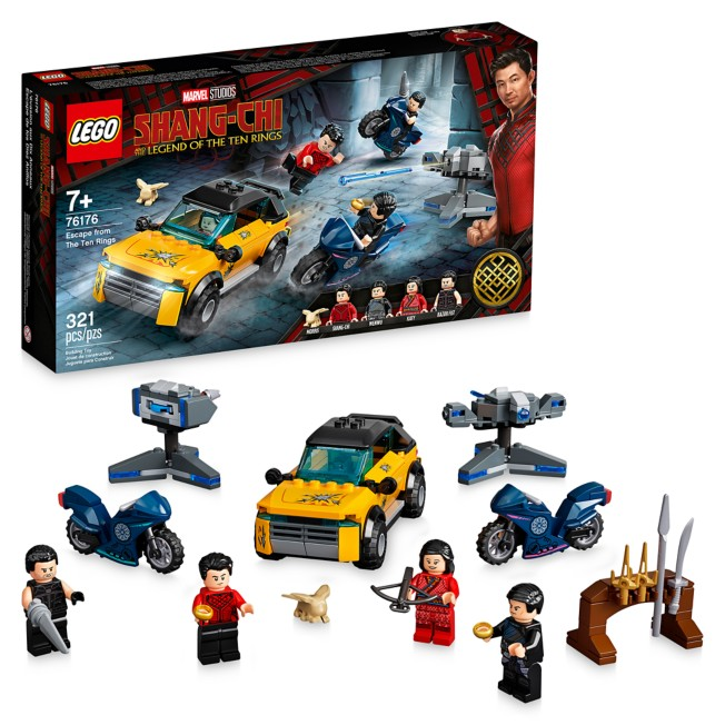 LEGO Escape from The Ten Rings 76176 – Shang-Chi and the Legend of The Ten Rings