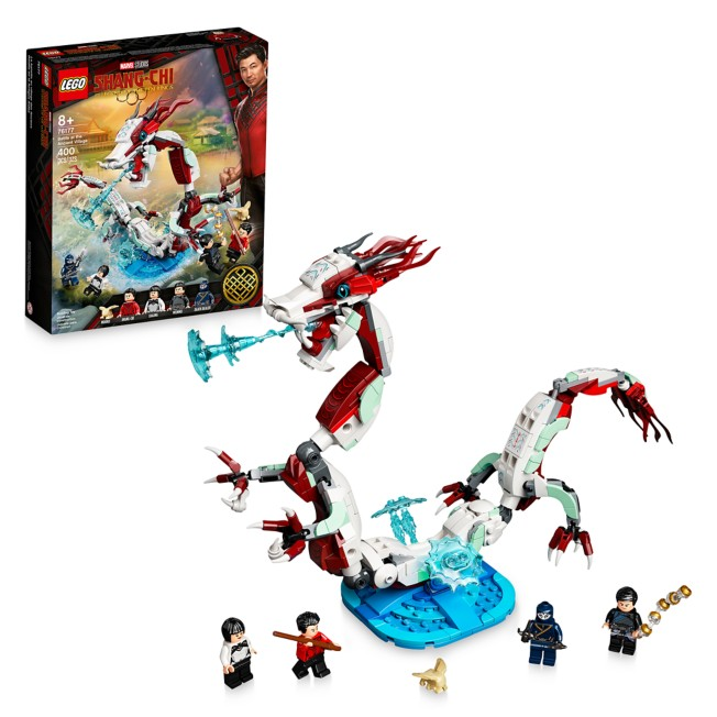 LEGO Battle at the Ancient Village 76177 – Shang-Chi and the Legend of The Ten Rings