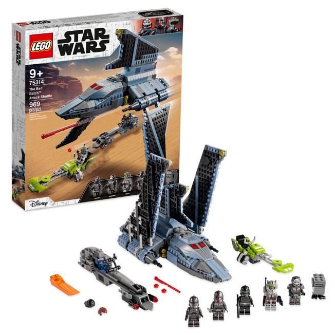 LEGO The Bad Batch Attack Shuttle 75314 – Star Wars