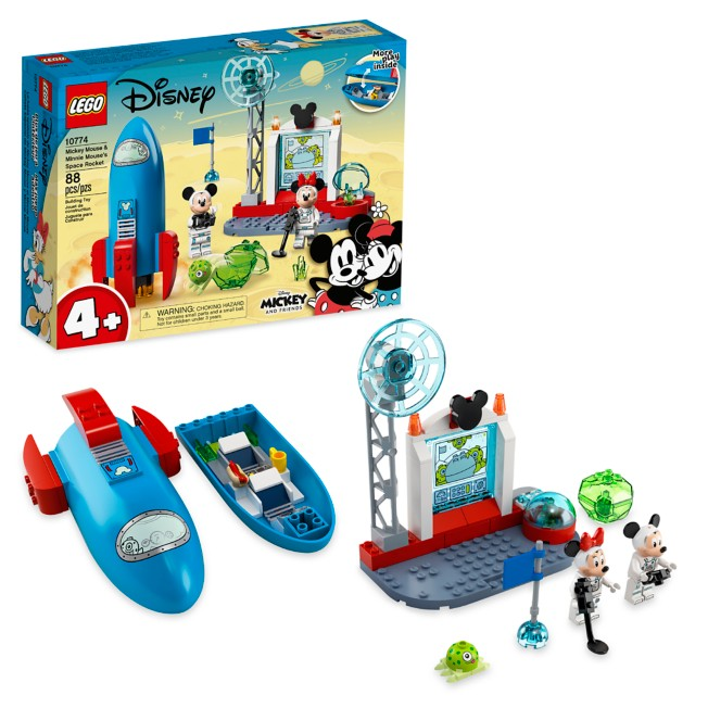 LEGO Mickey Mouse and Minnie Mouse's Space Rocket 10774