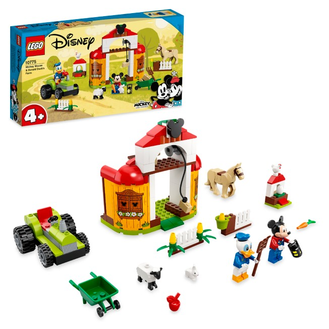 LEGO Mickey Mouse and Donald Duck's Farm 10775