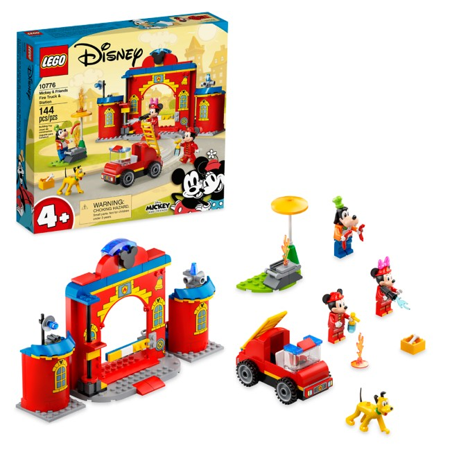 LEGO Mickey and Friends Fire Truck and Station 10776