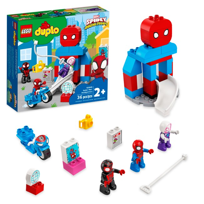 LEGO DUPLO Spider-Man Headquarters 10940 – Marvel's Spidey and His Amazing Friends