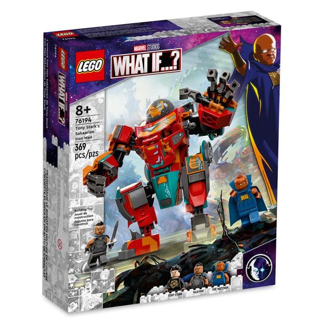 LEGO Tony Stark's Sakaarian Iron Man 76194 – Marvel What If . . .?