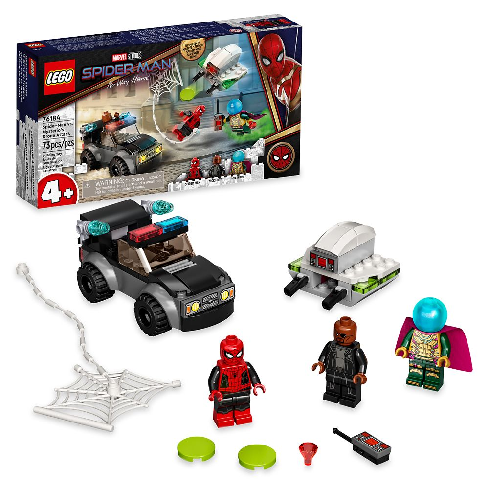 LEGO Spider-Man vs. Mysterio's Drone Attack 76184 – Spider-Man: No Way Home