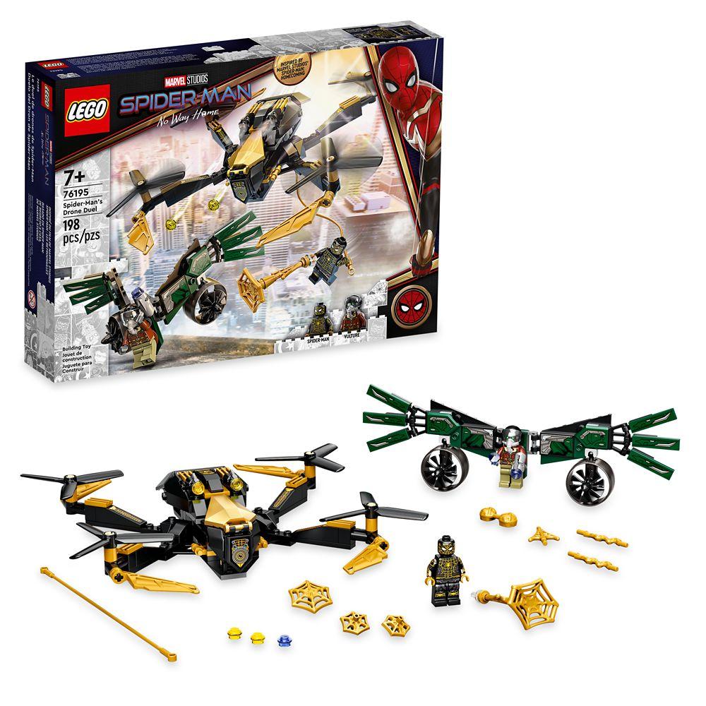 LEGO Spider-Man's Drone Duel 76195 – Spider-Man: No Way Home