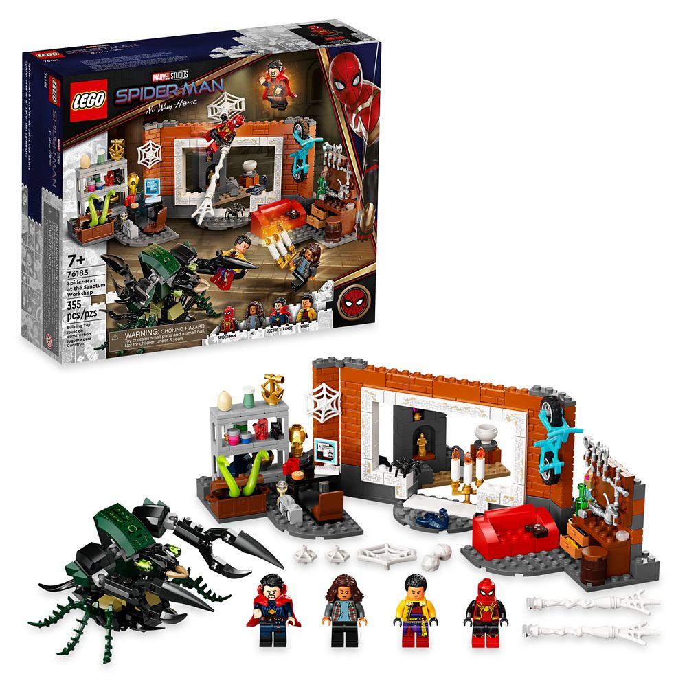 LEGO Spider-Man at the Sanctum Workshop 76185 – Spider-Man: No Way Home