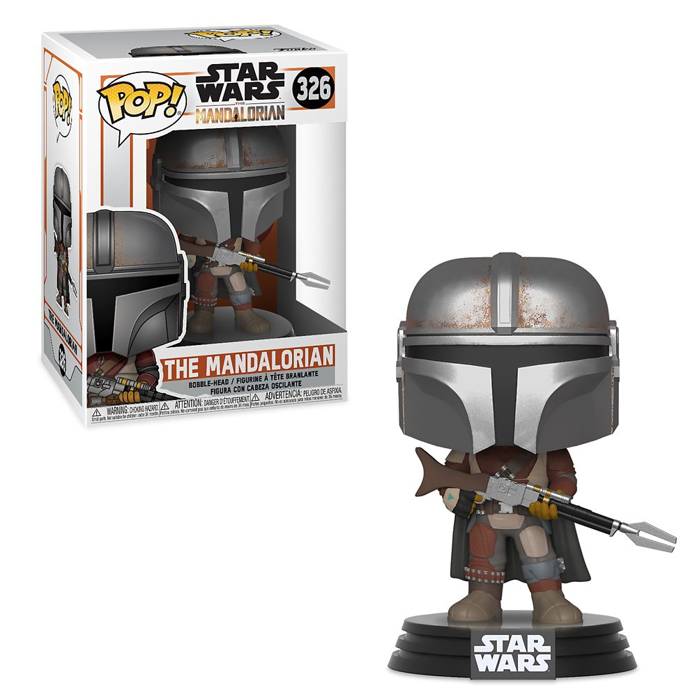 The Mandalorian Pop! Vinyl Bobble Head Figure by Funko – Star Wars