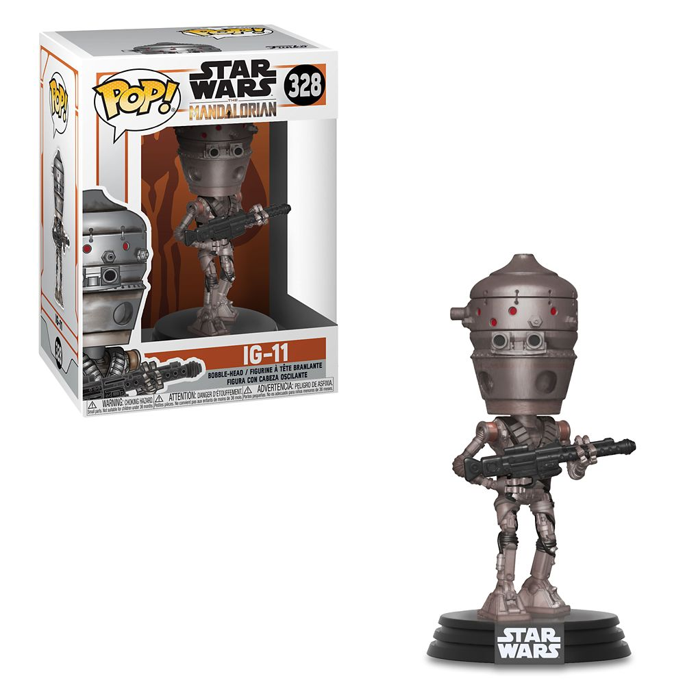 IG-11 Pop! Vinyl Bobble Head Figure by Funko – Star Wars: The Mandalorian