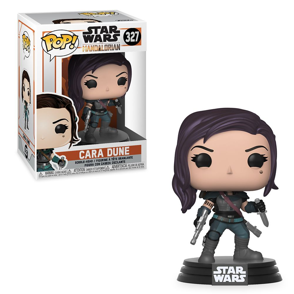 Cara Dune Pop! Vinyl Bobble-Head Figure by Funko – Star Wars: The Mandalorian