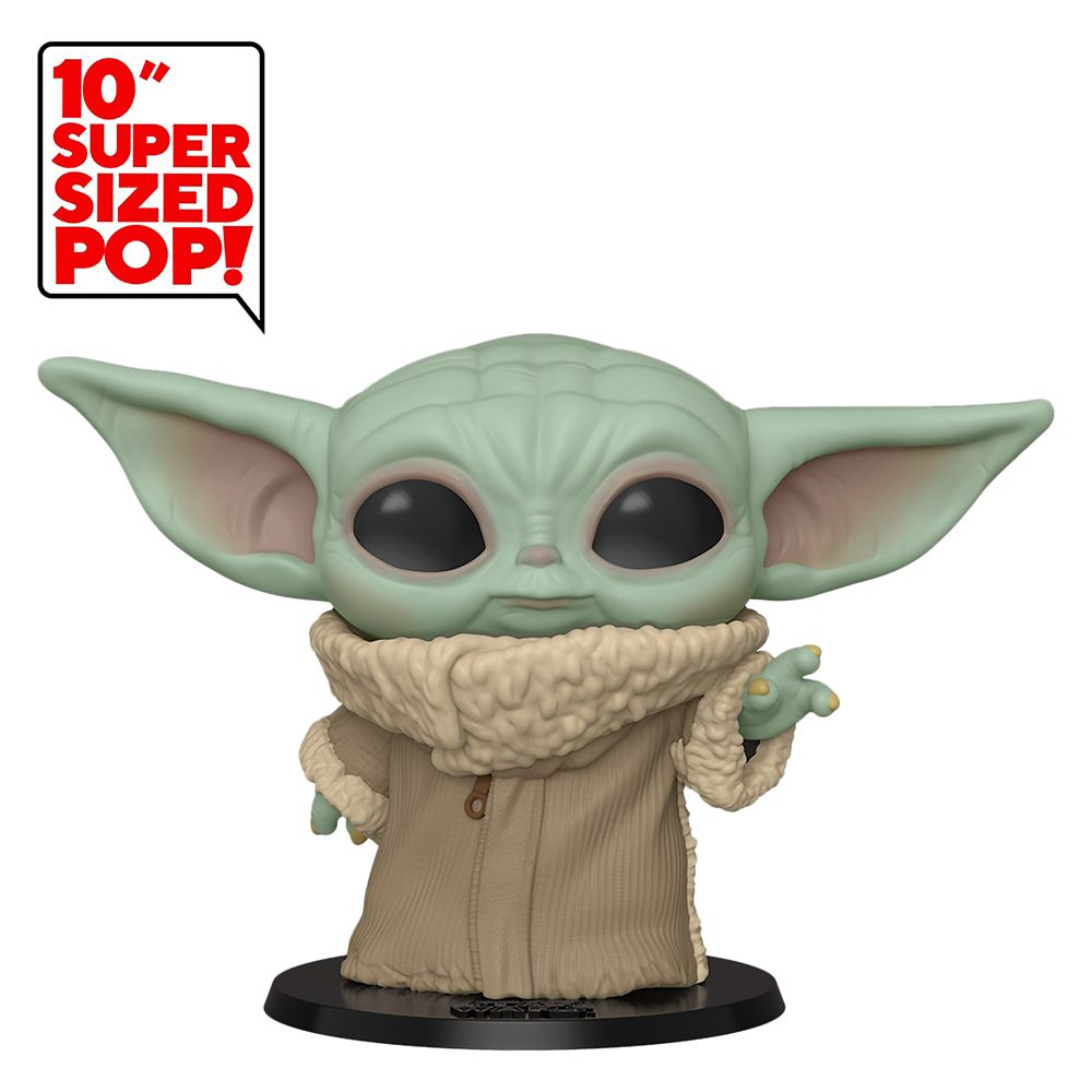 The Child Super Sized Pop! Vinyl Bobble Head Figure by Funko – Star Wars: The Mandalorian - 10'' – Pre-Order