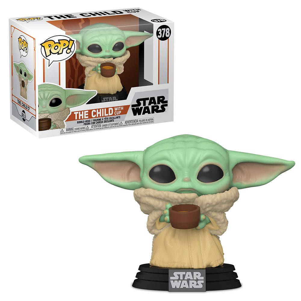 The Child with Cup Pop! Vinyl Bobble Head Figure by Funko – Star Wars: The Mandalorian