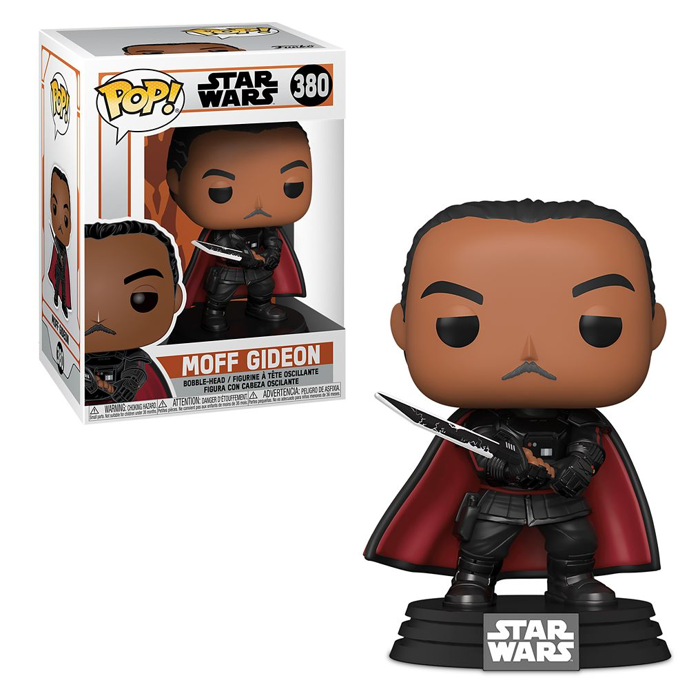 Moff Gideon Pop! Vinyl Bobble-Head by Funko – Star Wars: The Mandalorian
