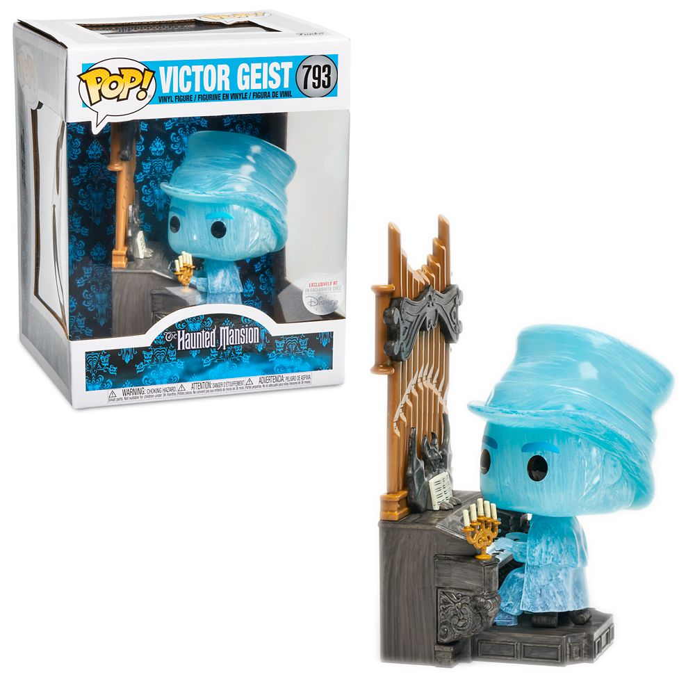 Victor Geist Pop! Vinyl Figure by Funko – The Haunted Mansion