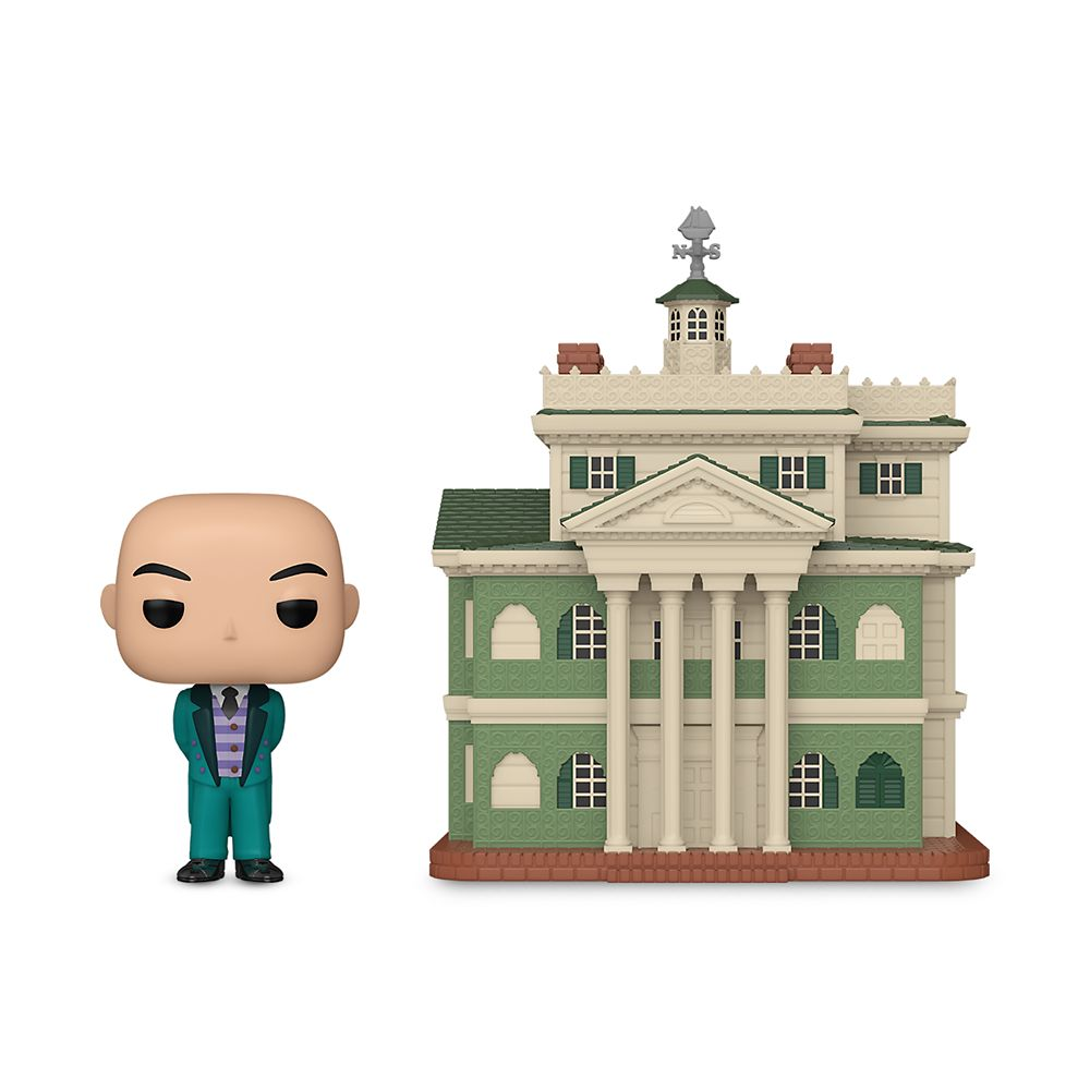 The Haunted Mansion and Butler Pop! Town Set by Funko