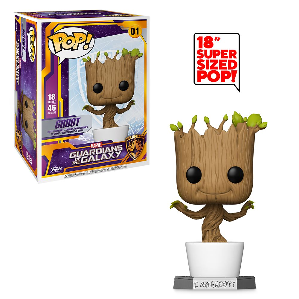 Groot Funko Pop! Vinyl Bobble-Head Guardians of the Galaxy – 18''