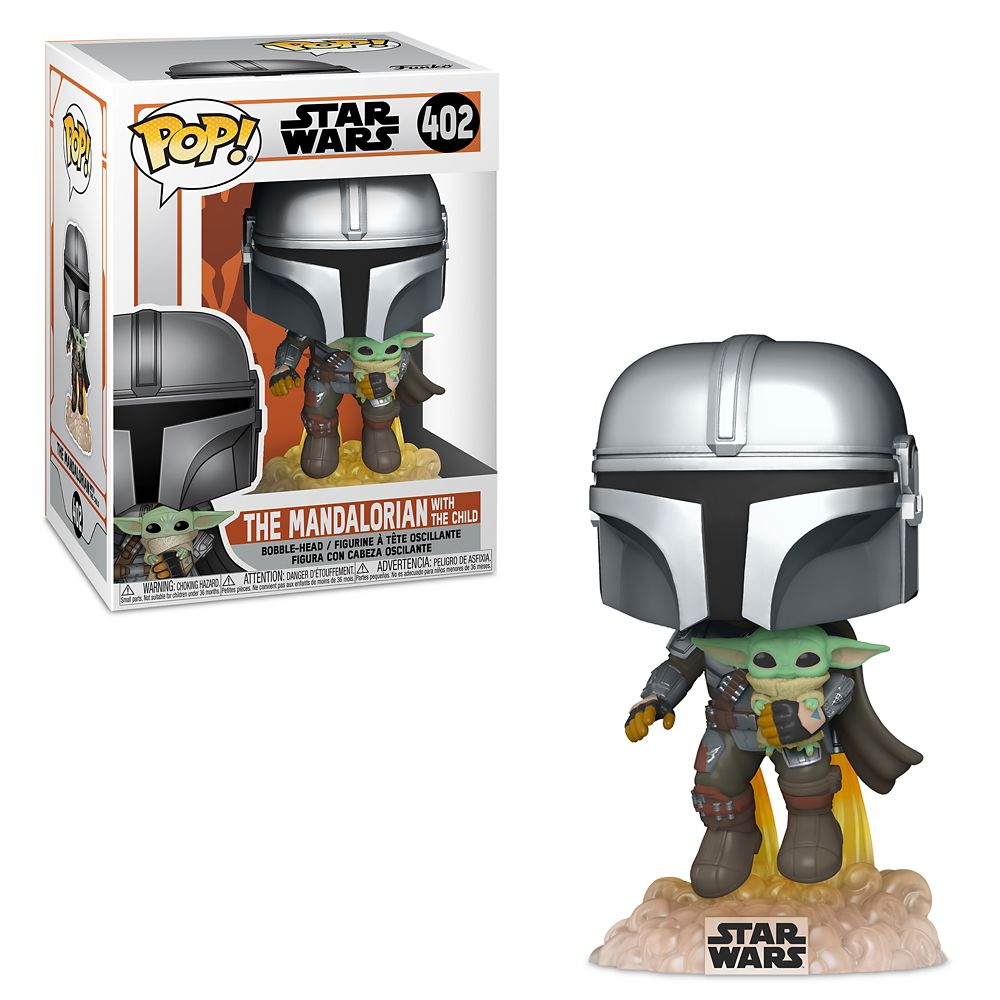 The Mandalorian with the Child Funko Pop! Vinyl Bobble-Head Figure – Star Wars: The Mandalorian – Pre-Order