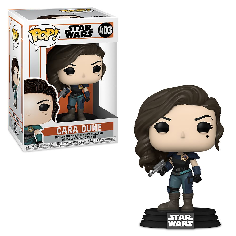Cara Dune Funko Pop! Vinyl Bobble-Head – Star Wars: The Mandalorian – Pre-Order