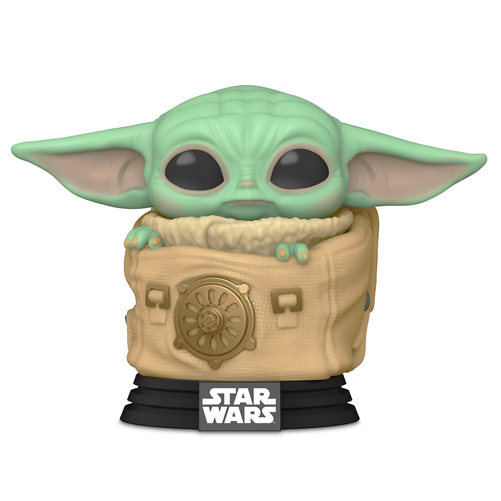 The Child with Carrier Pop! Vinyl Bobble-Head by Funko – Star Wars: The Mandalorian – Pre-Order