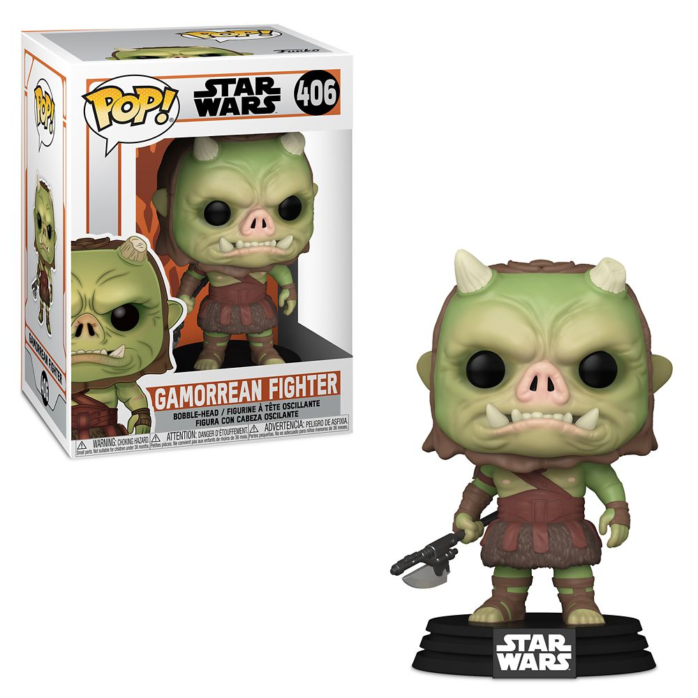 Gamorrean Fighter Funko Pop! Vinyl Bobble-Head Figure – Star Wars: The Mandalorian – Pre-Order