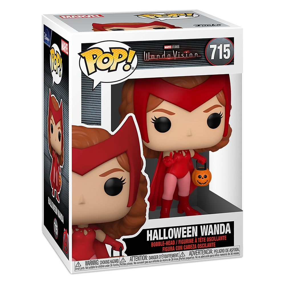Halloween Wanda Funko Pop! Vinyl Bobble-Head Figure – WandaVision – Pre-Order